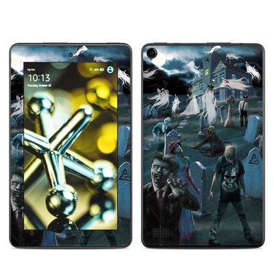 Amazon Kindle Fire 5th Gen Skin - Graveyard