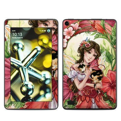 Amazon Kindle Fire 5th Gen Skin - Hibiscus Fairy