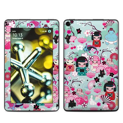 Amazon Kindle Fire 5th Gen Skin - Kimono Cuties