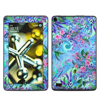 Amazon Kindle Fire 5th Gen Skin - Lavender Flowers