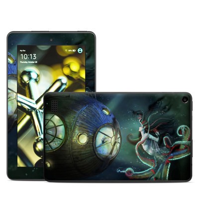 Amazon Kindle Fire 5th Gen Skin - 20000 Leagues