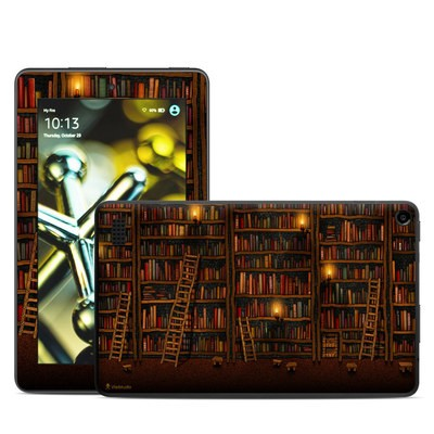 Amazon Kindle Fire 5th Gen Skin - Library