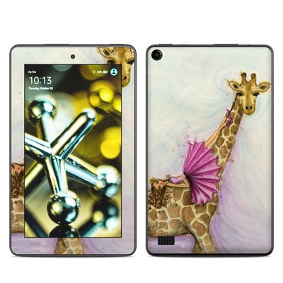 Amazon Kindle Fire 5th Gen Skin - Lounge Giraffe