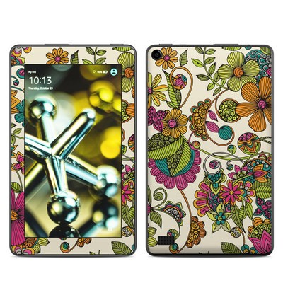 Amazon Kindle Fire 5th Gen Skin - Maia Flowers