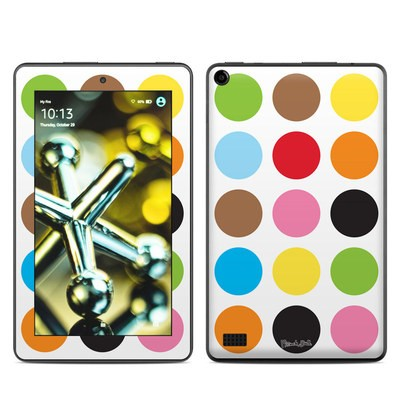 Amazon Kindle Fire 5th Gen Skin - Multidot