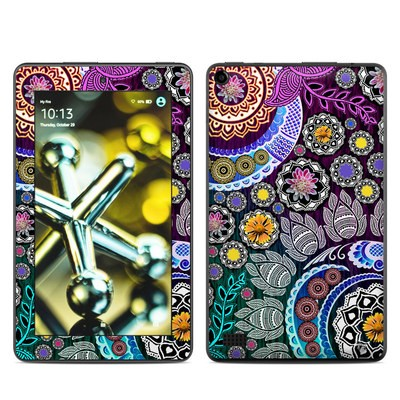 Amazon Kindle Fire 5th Gen Skin - Mehndi Garden