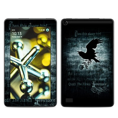 Amazon Kindle Fire 5th Gen Skin - Nevermore