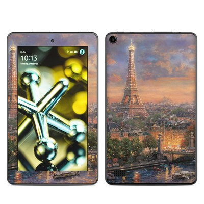Amazon Kindle Fire 5th Gen Skin - Paris City of Love