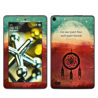 Amazon Kindle Fire 5th Gen Skin - Part Fire