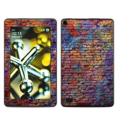 Amazon Kindle Fire 5th Gen Skin - Painted Brick