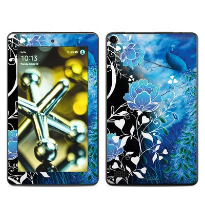 Amazon Kindle Fire 5th Gen Skin - Peacock Sky