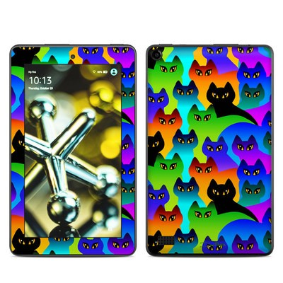 Amazon Kindle Fire 5th Gen Skin - Rainbow Cats