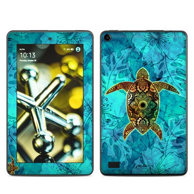 Amazon Kindle Fire 5th Gen Skin - Sacred Honu
