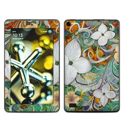 Amazon Kindle Fire 5th Gen Skin - Sangria Flora