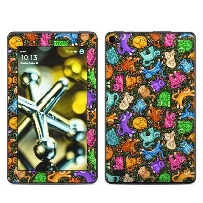 Amazon Kindle Fire 5th Gen Skin - Sew Catty
