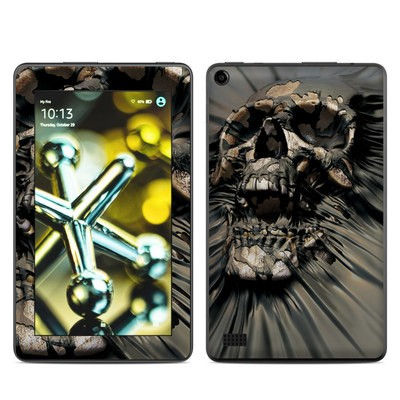 Amazon Kindle Fire 5th Gen Skin - Skull Wrap