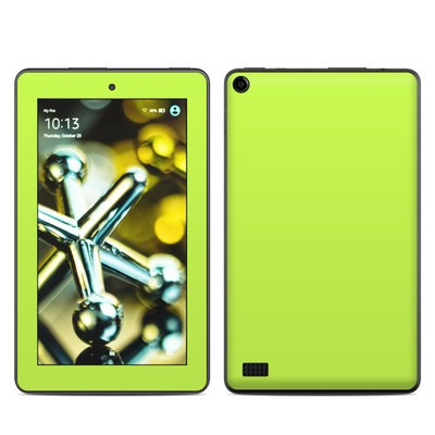 Amazon Kindle Fire 5th Gen Skin - Solid State Lime