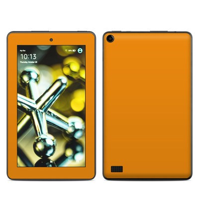 Amazon Kindle Fire 5th Gen Skin - Solid State Orange