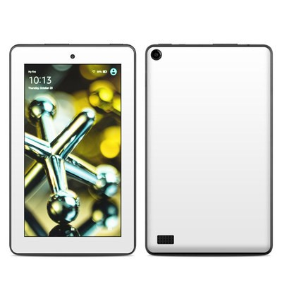 Amazon Kindle Fire 5th Gen Skin - Solid State White