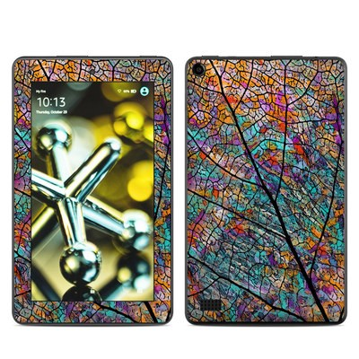 Amazon Kindle Fire 5th Gen Skin - Stained Aspen