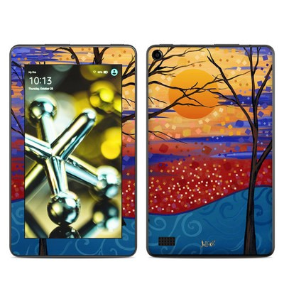 Amazon Kindle Fire 5th Gen Skin - Sunset Moon