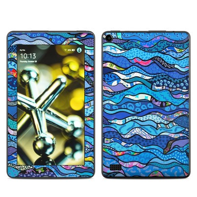 Amazon Kindle Fire 5th Gen Skin - The Blues