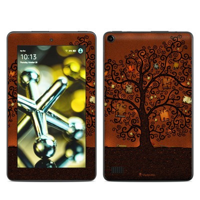 Amazon Kindle Fire 5th Gen Skin - Tree Of Books