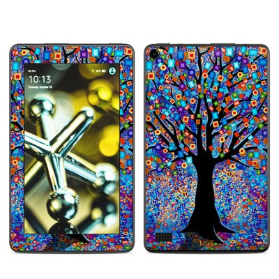 Amazon Kindle Fire 5th Gen Skin - Tree Carnival