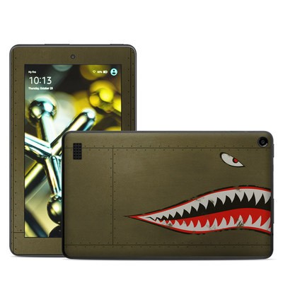 Amazon Kindle Fire 5th Gen Skin - USAF Shark