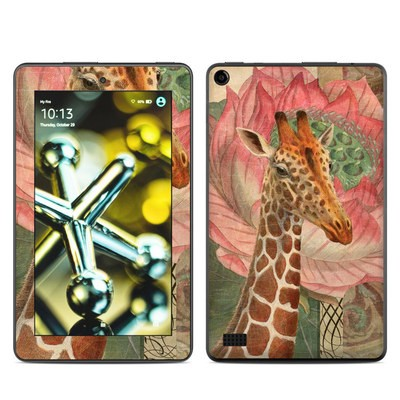 Amazon Kindle Fire 5th Gen Skin - Whimsical Giraffe