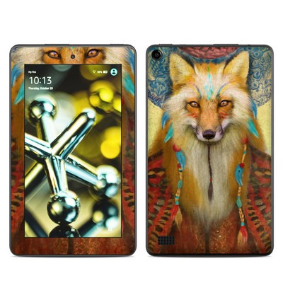 Amazon Kindle Fire 5th Gen Skin - Wise Fox