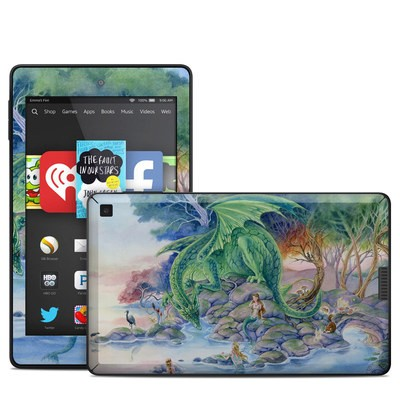 Amazon Kindle Fire HD 6in Skin - Of Air And Sea