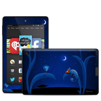 Amazon Kindle Fire HD 6in Skin - Alien and Chameleon