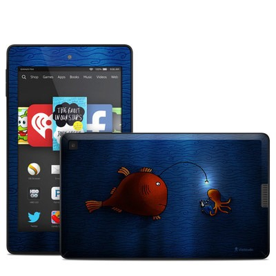 Amazon Kindle Fire HD 6in Skin - Angler Fish