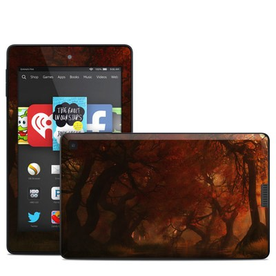 Amazon Kindle Fire HD 6in Skin - Canopy Creek Autumn