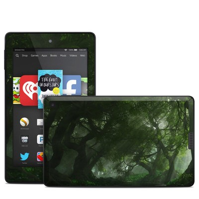 Amazon Kindle Fire HD 6in Skin - Canopy Creek Spring