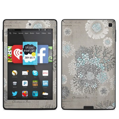 Amazon Kindle Fire HD 6in Skin - Christmas In Paris