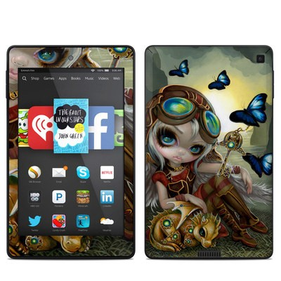 Amazon Kindle Fire HD 6in Skin - Clockwork Dragonling