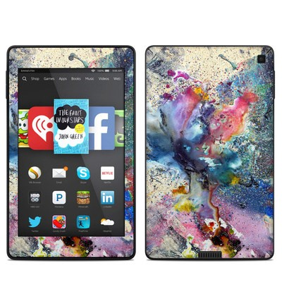 Amazon Kindle Fire HD 6in Skin - Cosmic Flower