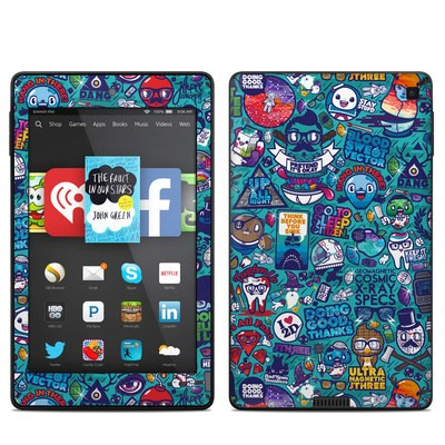 Amazon Kindle Fire HD 6in Skin - Cosmic Ray