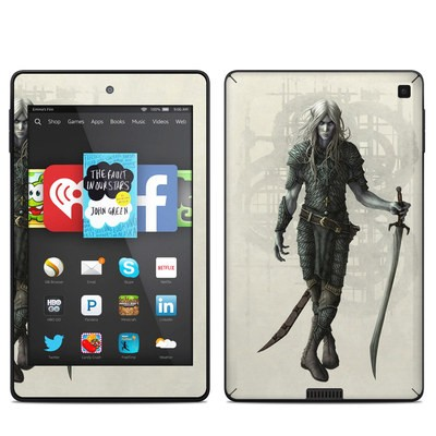 Amazon Kindle Fire HD 6in Skin - Dark Elf
