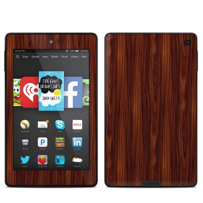 Amazon Kindle Fire HD 6in Skin - Dark Rosewood