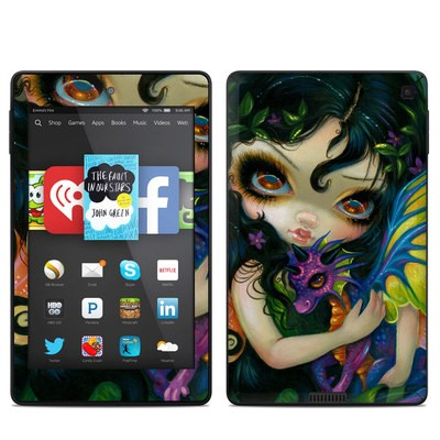 Amazon Kindle Fire HD 6in Skin - Dragonling Child