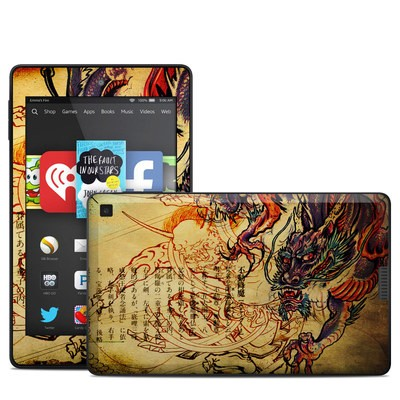 Amazon Kindle Fire HD 6in Skin - Dragon Legend
