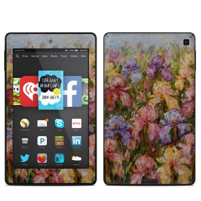 Amazon Kindle Fire HD 6in Skin - Field Of Irises