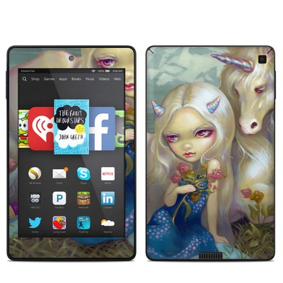 Amazon Kindle Fire HD 6in Skin - Fiona Unicorn