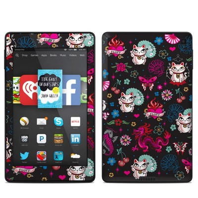 Amazon Kindle Fire HD 6in Skin - Geisha Kitty
