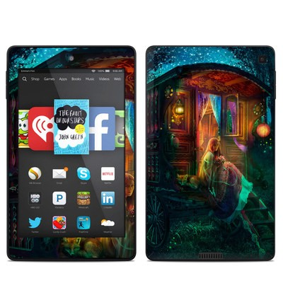 Amazon Kindle Fire HD 6in Skin - Gypsy Firefly
