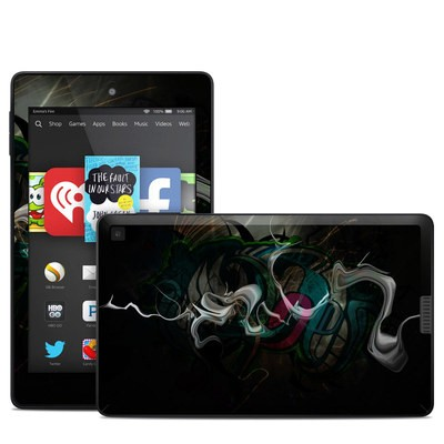 Amazon Kindle Fire HD 6in Skin - Graffstract