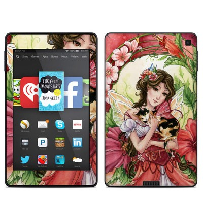 Amazon Kindle Fire HD 6in Skin - Hibiscus Fairy